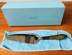 Tiffany & Co FANEUIL Pie Cake SERVER Sterling Handle Stainless Blade