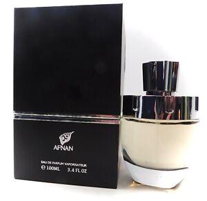 Afnan Rare Carbon Parfum 3.4oz sexy leather cologne perfume 8 hours long lasting