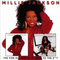 Millie Jackson - The Tide Is Turning/Back To The S**t (2017)  2CD NEW SPEEDYPOST
