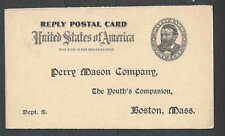 Ca 1902 PC Boston Ma Perry Mason Co Offers Subscription To Youths See Info