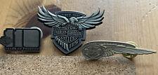harley davidson anniversary Pin Badge Set 110th 115th