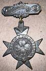 NEW JERSEY VOLUNTEERS  4th REGIMENT SPANISH AMERICAN WAR JERSEY CITY MEDAL