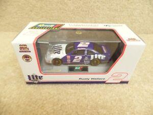 New 1997 Revell 1:43 Diecast NASCAR Rusty Wallace Miller Lite Ford Thunderbird