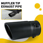 Coated Black Car Stainless Steel Rear Exhaust Pipe Tail Muffler Tip Round Parts