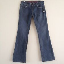 BNWT OAKLEY SZ UK 12 LEG 34  BLUE FREEDOM BOOTCUT JEANS NEW WITH TAGS