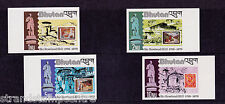 More details for bhutan - 1980 rowland hill - u/m - sg 428-31 imperf