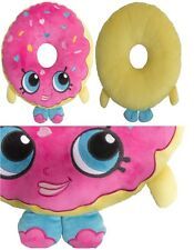 NEW SHOPKINS SUPER SOFT COMFY CUSHION / PILLOW DONUT SHAPED GIRLS BOYS KIDS GIFT