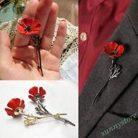 1X Brooch Flower Shaped Pin  Rhinestone Women&Men Jewelry Accessories Gift Decor