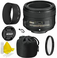 Nikon AF-S NIKKOR 50mm f/1.8G Lens- CellTime Kit