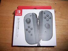 Nintendo Switch Gray Joy Cons Open Box Brand New