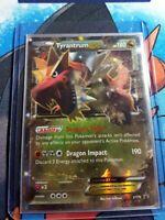 Tyrantrum-EX - XY70 - Ultra Rare Promo Promo Pokemon + Hard Plastic Sleeve