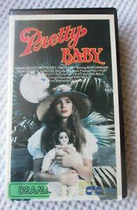 PRETTY BABY VHS 1979 CIC VIDEO VHA78940 BROOKE SHIELDS KEITH CARRADINE