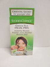 Facial Peel Chemical Free Natural Green Tea Sudden Change 3 Pack 4 each=12