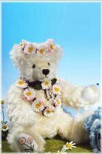 Hermann Flower Bears Daisy 2Nd In Series L.E.149/500 Cream Mohair Germany