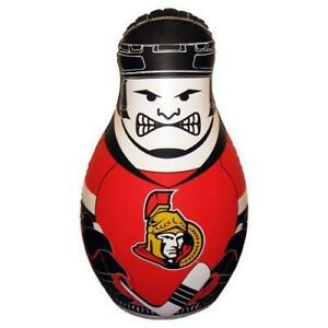 Ottawa Senators NHL Inflatable Checking Buddy Punching Bop Bag