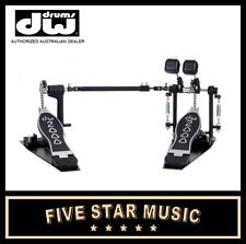 DW DOUBLE KICK DRUM PEDAL 2002 DWCP2002 RIGHT FOOTED - NEW