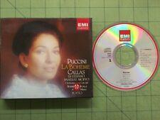 CD: Puccini LA BOHEME Maria Callas ANTONINO VOTTO EMI