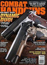 Combat Handguns Magazine Kimber .45ACPs Dynamic Duo February 2009 Vol 30 No 1