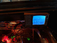 Terminator 2 Pinball mod - *Blood splattered* TV with VIDEO playback! NEW 2019!