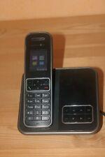 T-Com Sinus A406 Schnurlos Telefon Anrufbeantworter in SCHWARZ Schnurloses