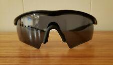 Vintage Oakley Pro M Frame Sunglasses / Black Matte Frame / Gray Lenses