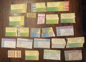 22 New Wave Punk 77-92 Ticket Stub Lot Ramones Blondie Cars Jett Talking Heads +
