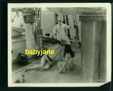 RAMON NOVARRO DOROTHY JANIS VINTAGE 8X10 PHOTO 1929  THE PAGAN SEMI NUDE ON SHIP