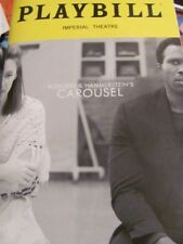 CAROUSEL Playbill Broadway Musical JESSIE MUELLER RENEE FLEMING JOSHUA HENRY NY