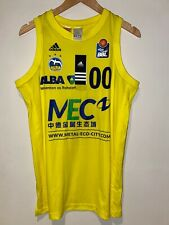 Alba Berlin ADIDAS Hennig YOUTH KIT player jersey German Basketball Champions XL