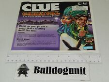 2009 Clue Carnival Case of Missing Prizes Game Replacement Instructions Only