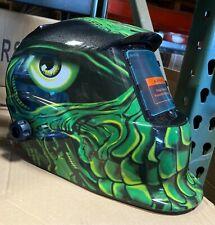 Ttht Solar Auto Darkening Welding Grinding Helmet Hood Mask