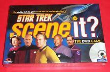 STAR TREK SCENE IT? - DVD TRIVIA GAME -NEW SEALED- KIRK, PICARD, SPOCK, VOYAGER