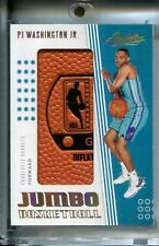 PJ Washington Jr. 2019-20 Absolute Memorabilia Jumbo Basketball NBA Logo #1/6