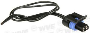 Engine Coolant Temperature Sensor Connector WVE BY NTK 1P1006