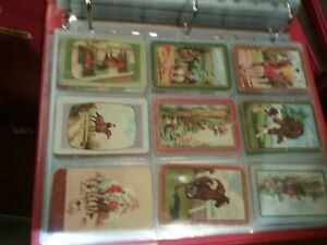 Vintage coles swap cards unnamed 8 mixed horses