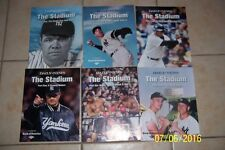 NEW YORK DAILY News The Stadium Set of 6 JETER Babe MANTLE Dimaggio MUHAMMAD ALI