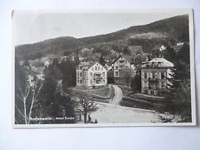 Ansichtskarte Badenweiler Hotel Saupe 1934