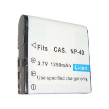 NP-40 1250mAh Replacement Battery for CASIO EXILIM EXP700 EX-Z500 EX-Z1000 Cam