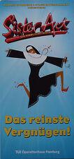 Flyer: Musical SISTER ACT (mit Daniela Ziegler, präsentiert von Whoopi Goldberg)
