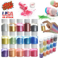 15 Colors Mica Powder Epoxy Resin Dye Pearl Pigment Natural Mica Mineral Powder