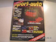 **d Sport Auto n°282 24 Heures du Mans / Lamborghini Countach / Keke Rosberg