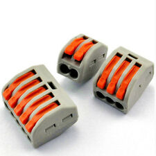 10PCS 2Pin Universal electrical wire connector terminal blocks ternminal lugs