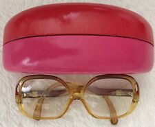 Vintage Playboy Optyl Oversized Eye Glasses/Frames Made In Austria 30 54 13 EXLT