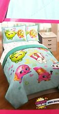 Shopkins Full/ Queen Quilt and Sham Set Sale Bed Bedding Comes with free Pillow