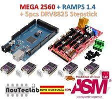 Mega 2560 R3 + RAMPS 1.4 Control Panel + 5pcs DRV8825 Stepper Drive