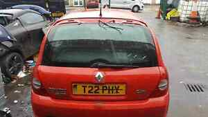 Renault Clio Sport MK2 2001-2006 Trophy Rear Tailgate Boot Red OV727