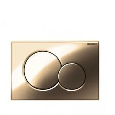 Geberit Sigma01 (Fine Brass) Dual Flush Plate for UP320 Cistern - 115.770.DT.5