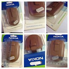 CUSTODIA NOKIA ORIGINALE NOKIA CP-145 PELLE MARRONE BROWN LEATHER