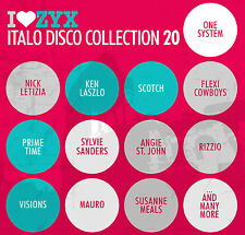 CD zyx italo disco collection 20 de various artists 3cds