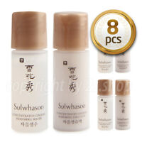 [Sulwhasoo] Concentrated Ginseng Renewing  Water 4pcs+ Emulsion 4pcs Total 8pcs